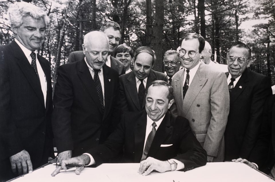 Long Island Pine Barrens Protection Act Signing