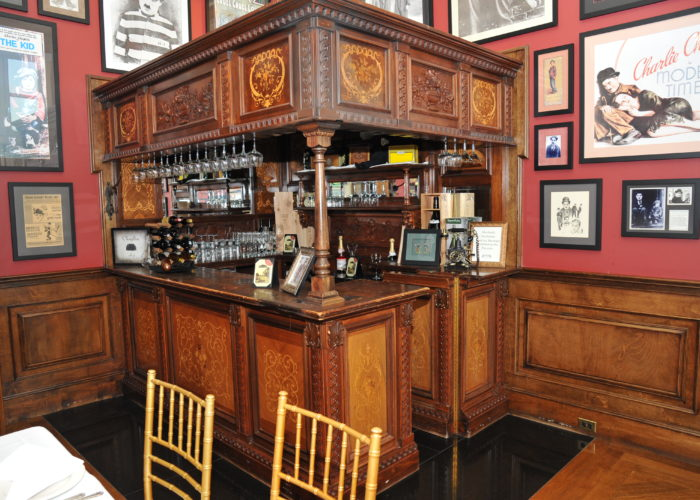 Historical bar inside Oheka Castle