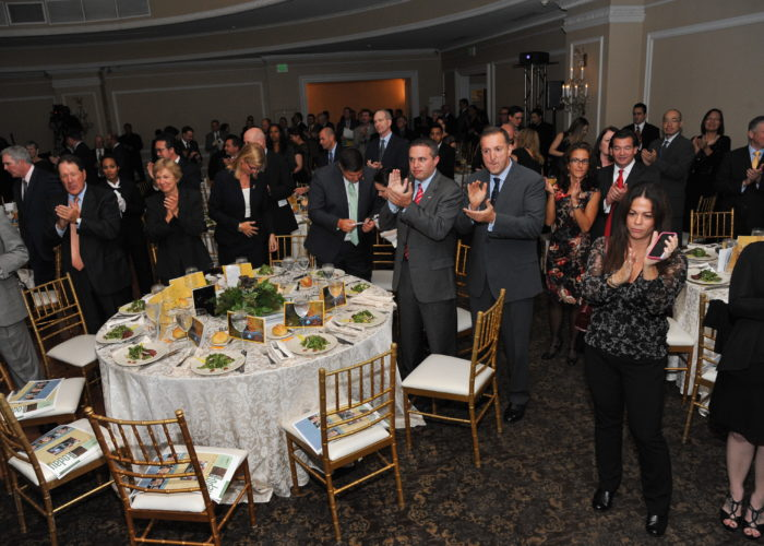 People at the Pine Barrens Society Gala
