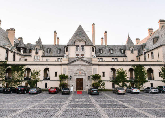 Exterior of Oheka Castle