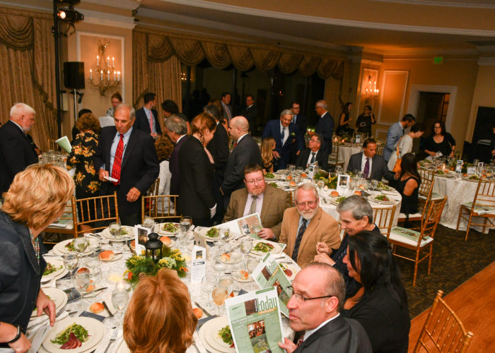 Guests seated at tables at the Pine Barrens Society Gala